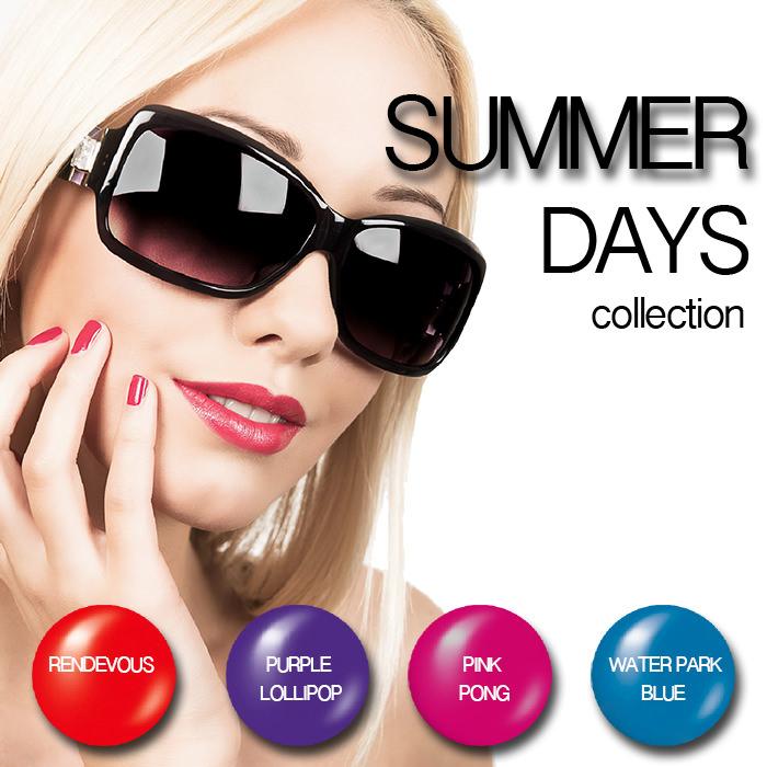 Summer Days -Gel Nail Polish Pack - SUMMER-DAYS-