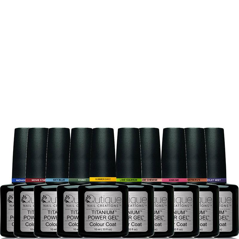 10 Colours -Gel Nail Polish Pack | Qutique