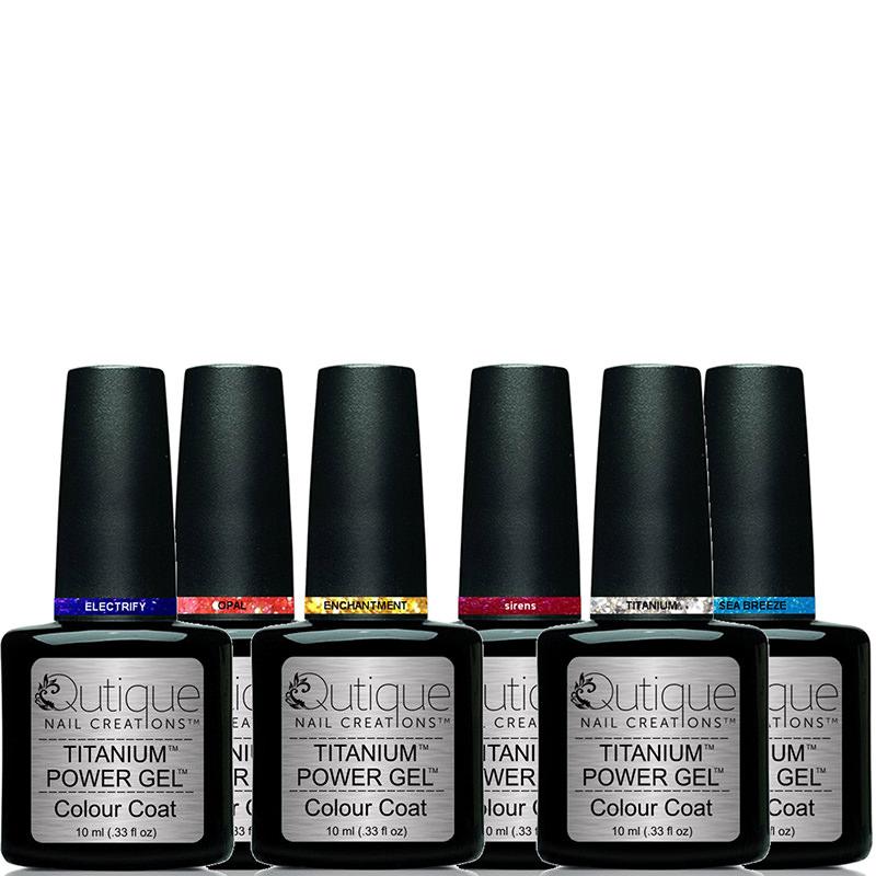 6 Colours -Gel Nail Polish Pack   Qutique