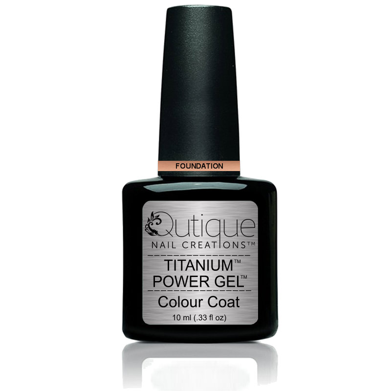 Gel Nail Polish Foundation Nude Qutique
