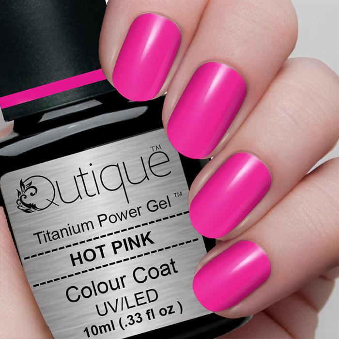 Hot Pink Gel Polish: Gel Nail Polish -Hot Pink (bright Pink)