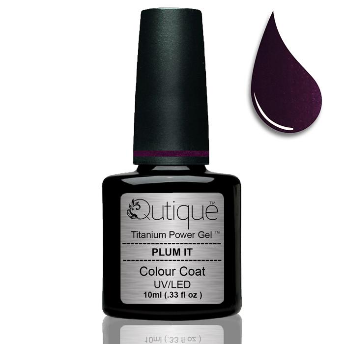 Gel Nail Polish Plum It Dark Purple