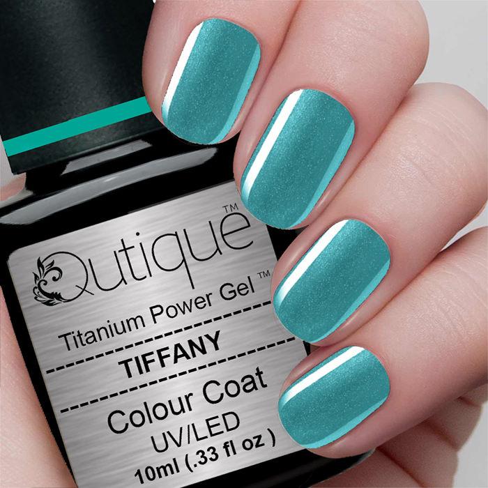 Tiffany Blue Gel Nail Polish: Gel Nail Polish -Tiffany (teal Green Shimmer)