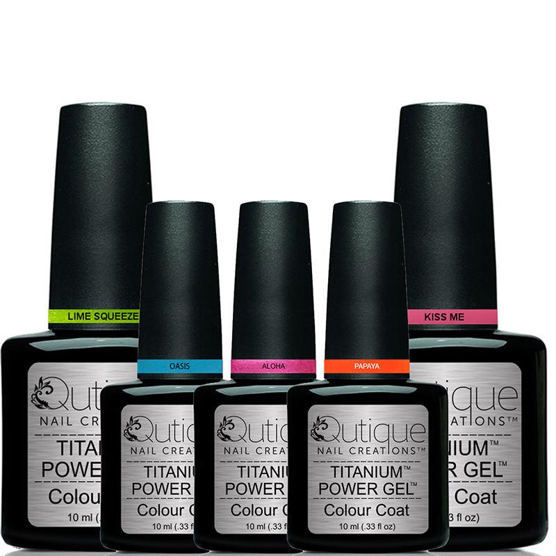 How To Clean A Titanium Nail: 5 Colours -Gel Nail Polish Pack