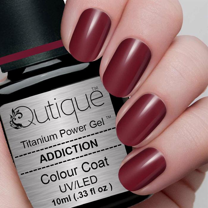 Gel Nail Polish -Addiction | Qutique –Titanium Power Gel
