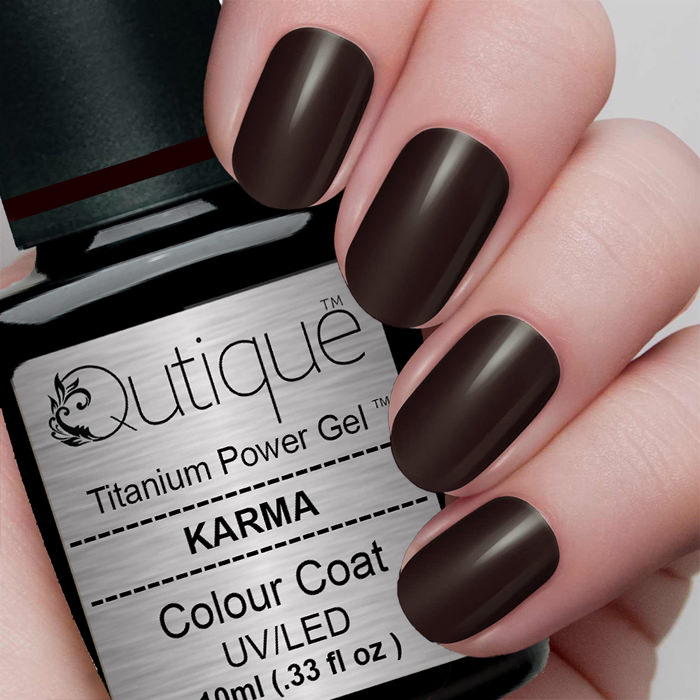 Gel Nail Polish -Karma | Qutique –Titanium Power Gel