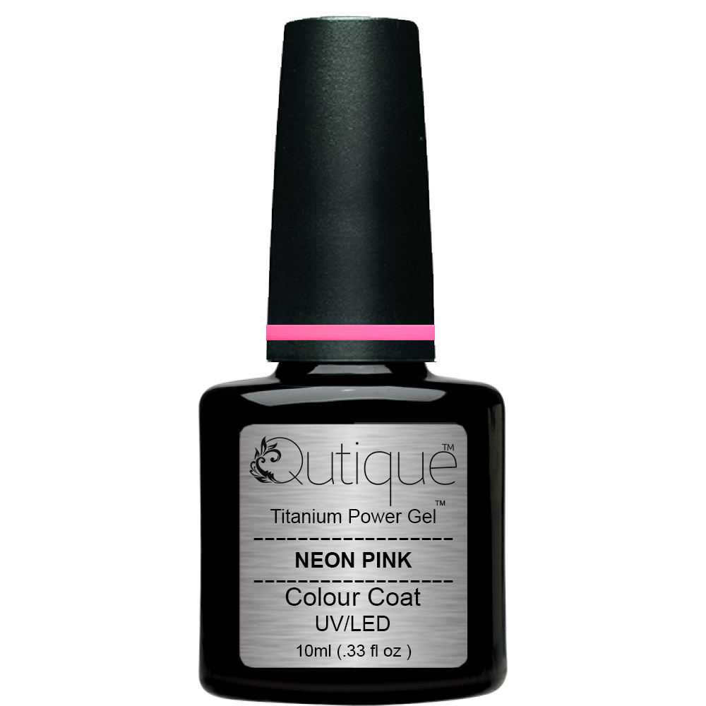 Gel Nail Polish Neon -Pink | Qutique –Titanium Power Gel